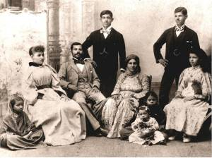 Grandfather and grandmother in Bombay 1800s